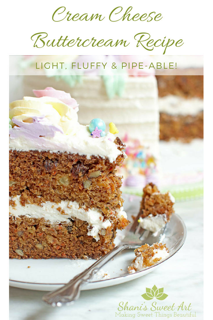 Carrot Wedding Cake With Cream Cheese Frosting Recipe