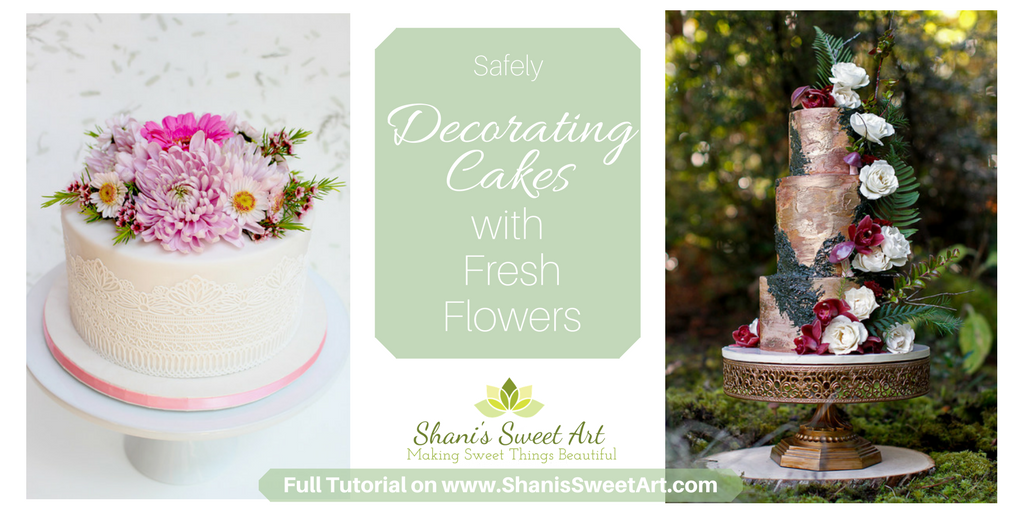 Other Than Flowers What To Decorate Cakes With