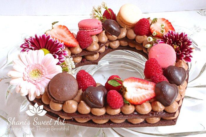 Fruit Tart Wedding Cake